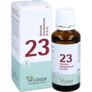 BIOCHEMIE Pflüger 23 Natrium bicarbonicum D 6 Tro.