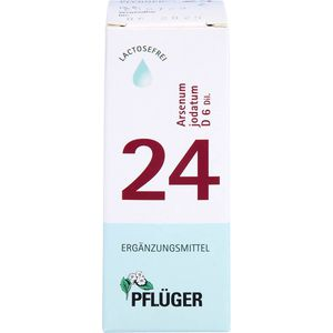BIOCHEMIE Pflüger 24 Arsenum jodatum D 6 Tropfen