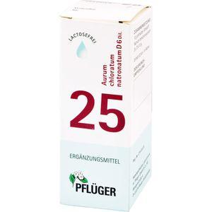 BIOCHEMIE Pflüger 25 Aurum chlorat.natron.D 6 Tro.
