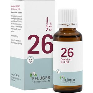 BIOCHEMIE Pflüger 26 Selenium D 6 Tropfen