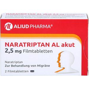 NARATRIPTAN AL akut 2,5 mg Filmtabletten