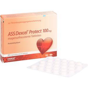 ASS DEXCEL Protect 100 mg magensaftres.Tabletten