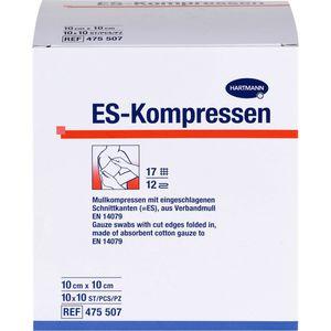 ES-KOMPRESSEN steril 10x10 cm