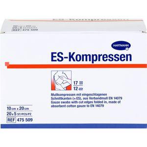 ES-KOMPRESSEN steril 10x20 cm