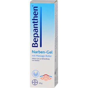 BEPANTHEN Narben-Gel mit Massage-Roller