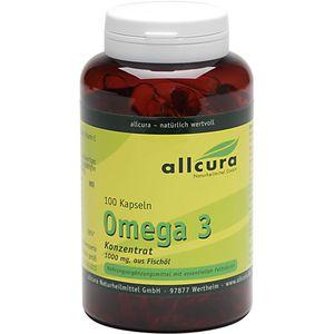 OMEGA-3 Konzentrat aus Fischöl 1000 mg Kapseln
