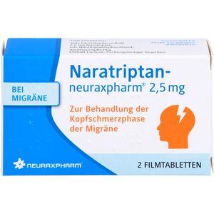 NARATRIPTAN-neuraxpharm 2,5 mg Filmtabletten