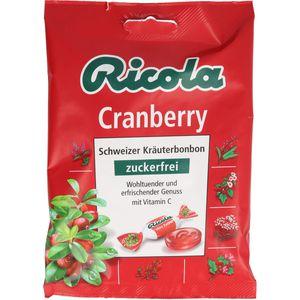 RICOLA o.Z.Beutel Cranberry Bonbons