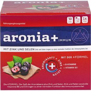 ARONIA+ IMMUN Monatspackung Trinkampullen