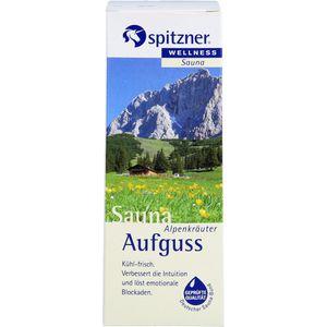 SPITZNER Saunaaufguss Alpenkräuter Wellness
