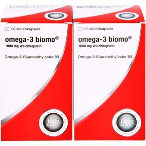 OMEGA-3 biomo 1.000 mg Weichkapseln