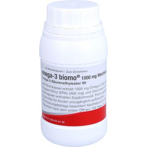 OMEGA 3 biomo 1.000 mg Weichkapseln