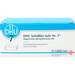 BIOCHEMIE DHU 7 Magnesium phosphoricum D 6 Pulver