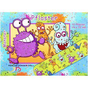 KINDERPFLASTER Monster Briefchen