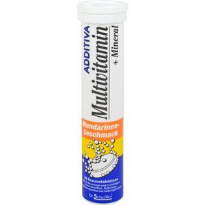 ADDITIVA Multivit.+Mineral Mandarine R Brausetabl.