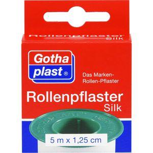 ROLLENPFLASTER Silk 1,25 cmx5 m Euro