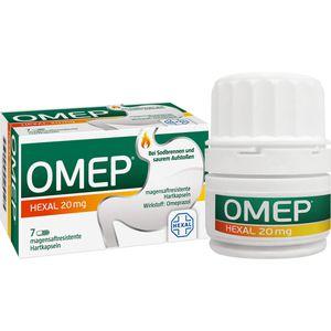 OMEP HEXAL 20 mg magensaftresistente Hartkapseln
