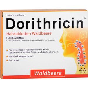 DORITHRICIN Halstabletten Waldbeere