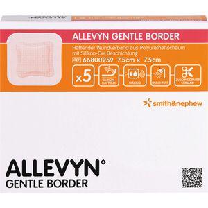 ALLEVYN Gentle Border 7,5x7,5 cm Schaumverb.