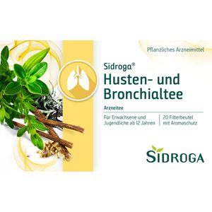 SIDROGA Husten- und Bronchialtee Filterbeutel