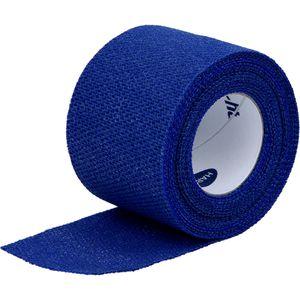 IDEALAST-haft color Binde 4 cmx4 m blau