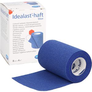 IDEALAST-haft color Binde 8 cmx4 m blau