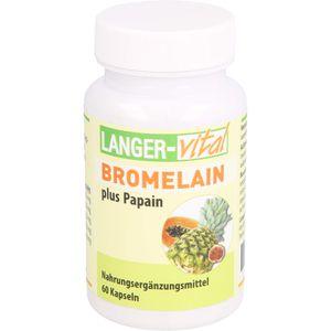 BROMELAIN 160 mg+Papain 160 mg Tg.Kapseln