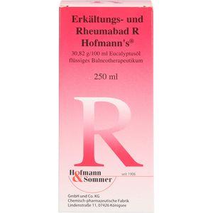 ERKÄLTUNGS- UND Rheumabad R Hofmann's