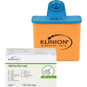 KLINION Soft fine plus Pen-Nadeln 4mm 32 G 0,23mm