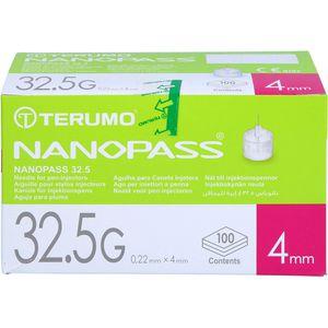 NANOPASS 32,5 Pen Kanüle 32,5 G 0,22x4 mm