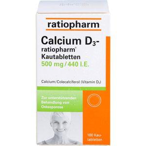 CALCIUM D3-ratiopharm Kautabletten