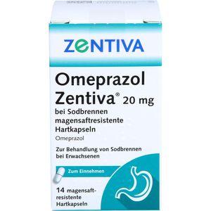 OMEPRAZOL Zentiva 20 mg bei Sodbrennen