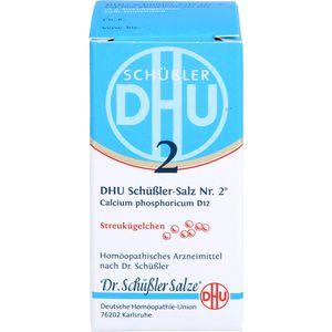 BIOCHEMIE DHU 2 Calcium phosphoricum D 12 Globuli