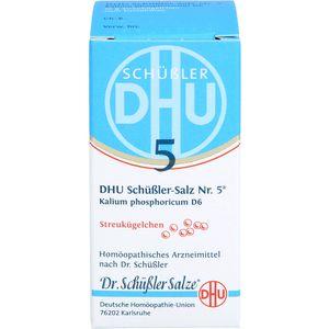 BIOCHEMIE DHU 5 Kalium phosphoricum D 6 Globuli