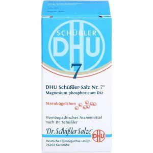 BIOCHEMIE DHU 7 Magnesium phosphoricum D 12 Glob.