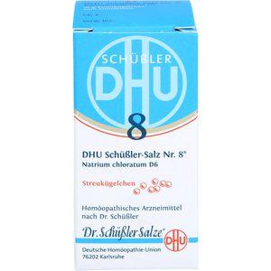 BIOCHEMIE DHU 8 Natrium chloratum D 6 Globuli