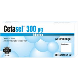CEFASEL 300 μg Tabletten