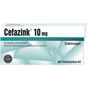 CEFAZINK 10 mg Filmtabletten