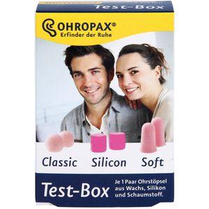 OHROPAX Test-Box 3 Sorten Ohrstöpsel