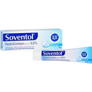 SOVENTOL Hydrocortisonacetat 0,5% Creme