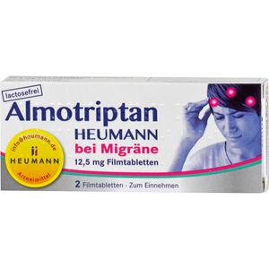 ALMOTRIPTAN Heumann bei Migräne 12,5 mg Filmtabl.
