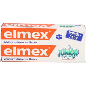ELMEX Junior Zahnpasta Doppelpack