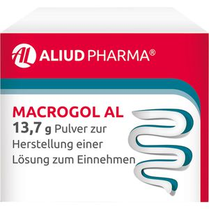 MACROGOL AL 13,7 g Plv.z.Her.e.Lsg.z.Einnehmen