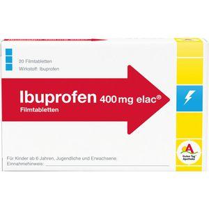 IBUPROFEN 400 mg elac Filmtabletten