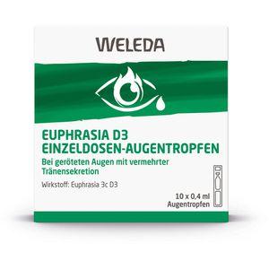 EUPHRASIA D 3 Einzeldosen-Augentropfen