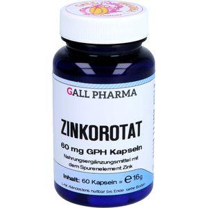 ZINKOROTAT 60 mg GPH Kapseln