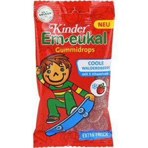EM EUKAL Kinder Gummidrops coole Walderdbeere zh.