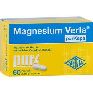 MAGNESIUM VERLA purKaps vegane Kapseln z.Einnehmen