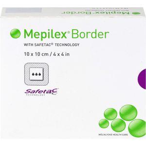 MEPILEX Border Schaumverband 10x10 cm