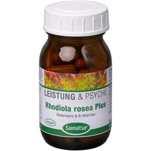RHODIOLA ROSEA Plus B-Vitamine Kapseln